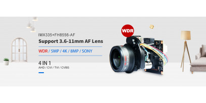 Светочувствительные видеокамеры наблюдения следующего поколения на базе сенсоров изображения CMOS SONY STARVIS описание