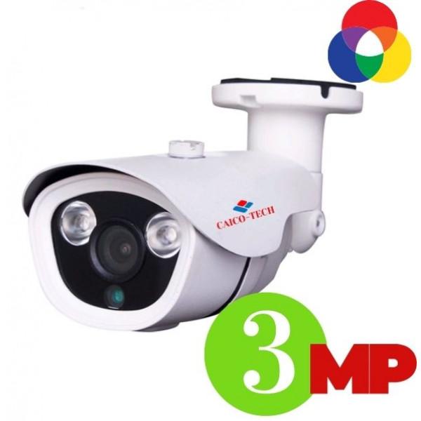 Уличная 3МП видеокамера наружного наблюдения CAICO-TECH C25R3MYGG гибрид AHD-TVI- CVI-CVBS