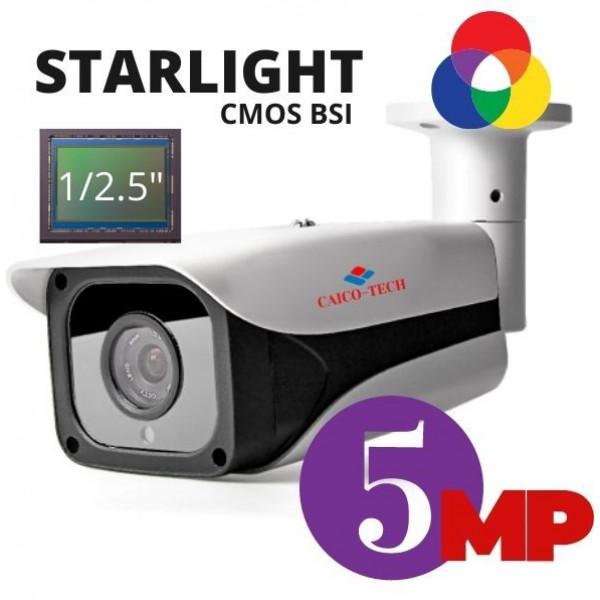 Уличная камера видеокамера CAICO TECH 5D50T STARLIGHT низкой освещенности 5 Мп