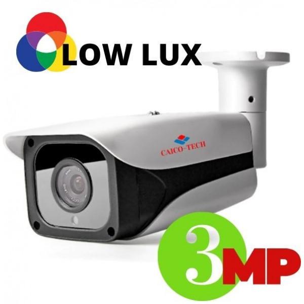 Уличная видеокамера наблюдения с ИК прожектором 3Mpix CAICO TRM 2A3