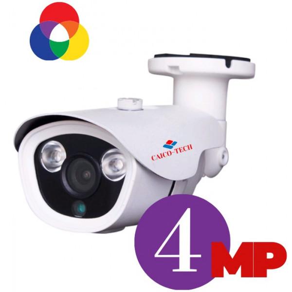 Уличная 4 Мп камера наблюдения с ИК прожектором ночного видения CAICO TECH FY402