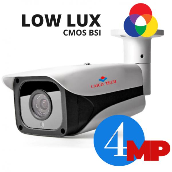 Уличная 4 Мп камера наблюдения с ИК прожектором ночного видения CAICO TECH FY 401