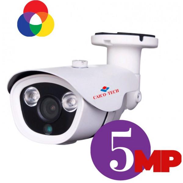 Уличная 5 Мп камера наблюдения с ИК прожектором CAICO TECH FYQ 5033