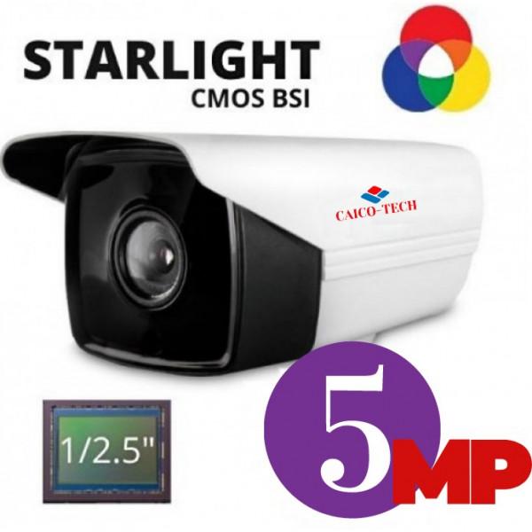 Уличная гибридная камера наблюдения STARLIGHT CAICO TECH® 5D51H 5Mpix