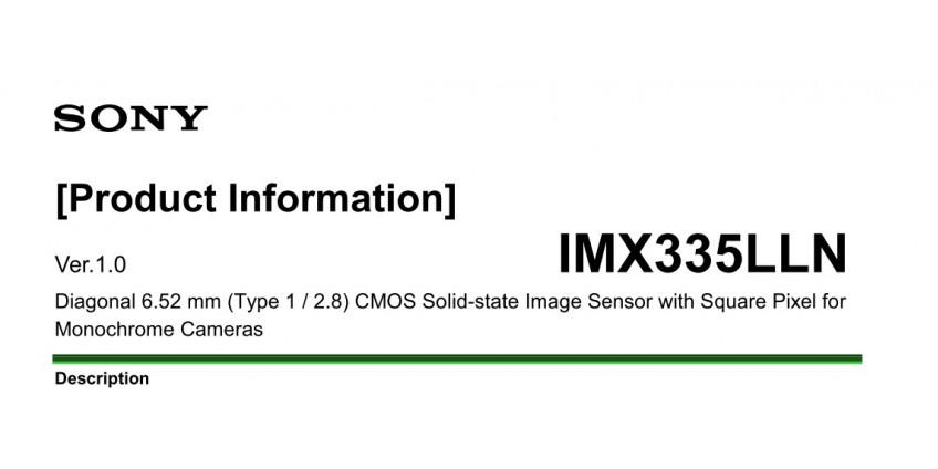 Видеокамеры наблюдения  5Mpix CMOS Sony IMX 335 отличие