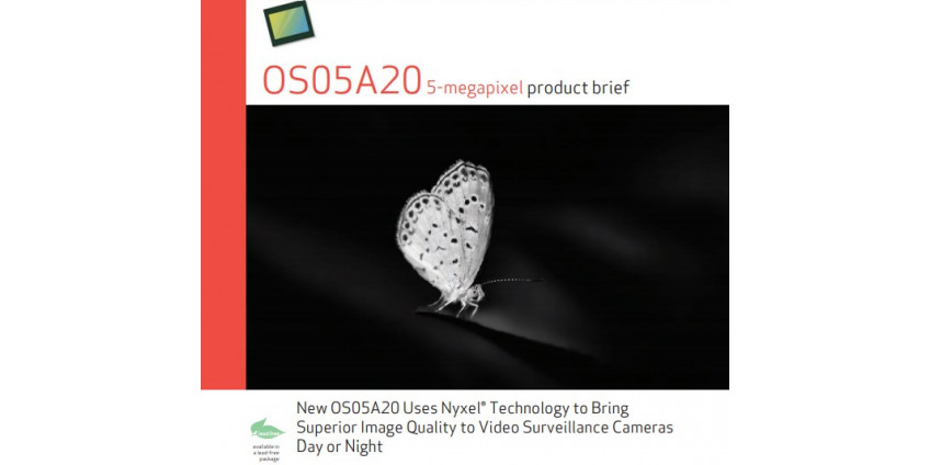 Новый сенсор изображения OS05A20 от OmniVision Technologies, Inc.,