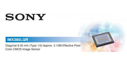 Сенсор изображения CMOS SONY IMX 385 - характеристика, полное описание