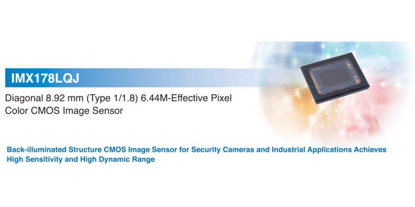 Обзор характеристики полное описание CMOS-датчик изображения с обратной засветкой, IMX178LQJ