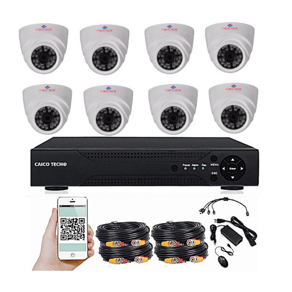 Комплект наблюдения CAICO TECH 2562 GD  на 8 камер 2Мп помещение