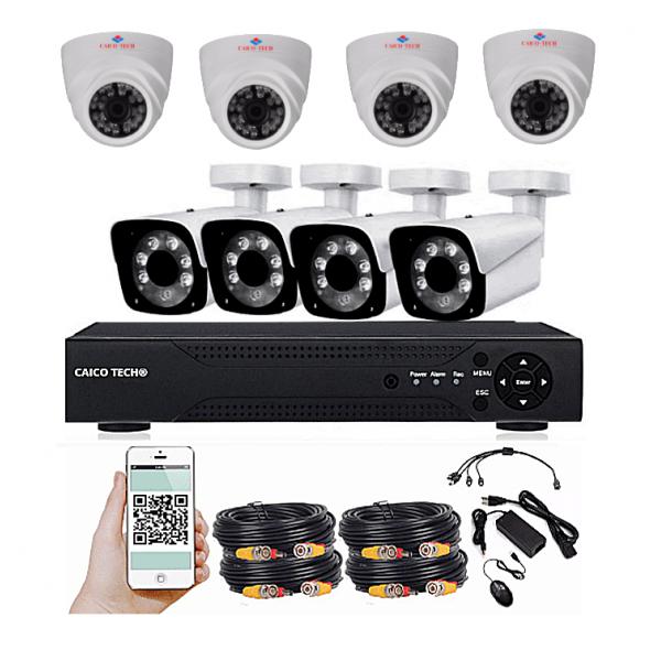 Комплект наблюдения CAICO TECH 2310 GH 8 камер 2Мп помещение