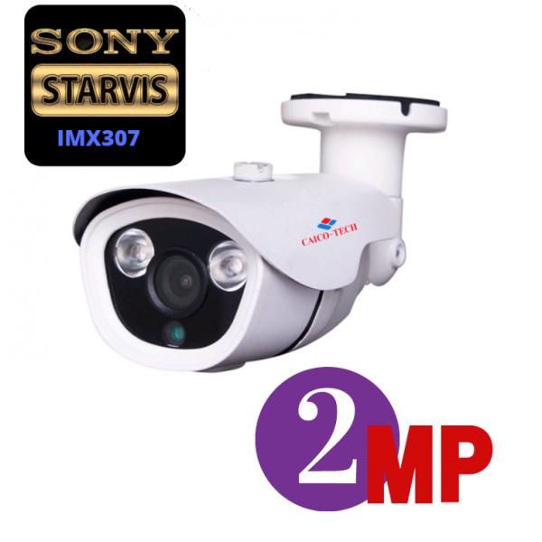 STARLIGHT уличная видеокамера наблюдения CAICO TECH DSV-40A CMOS IMX 307 2МП